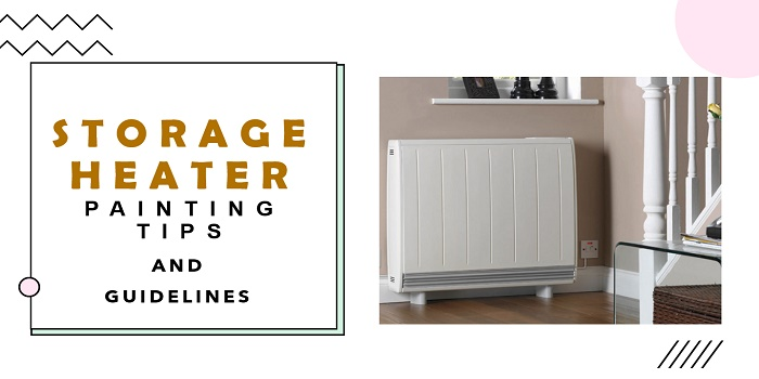 can you paint a storage heater