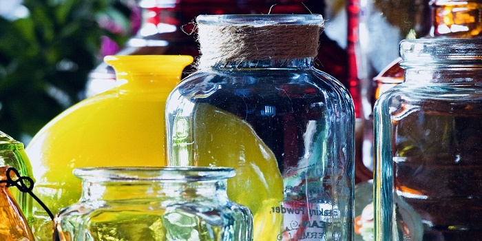 what kind of paint for glass jars and bottles