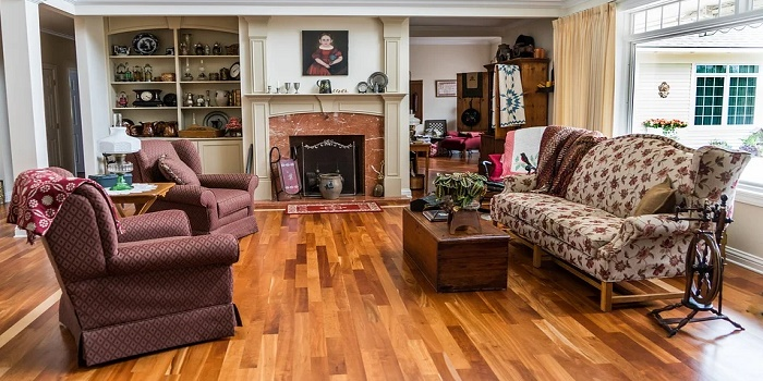 how to paint a timber floor
