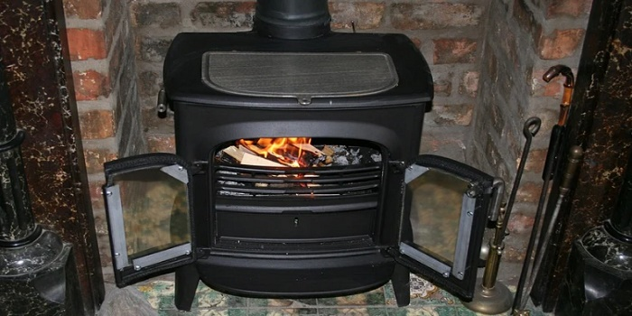 how to paint a wood burning stove