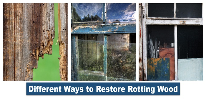 how to repair rotting wood without replacing it