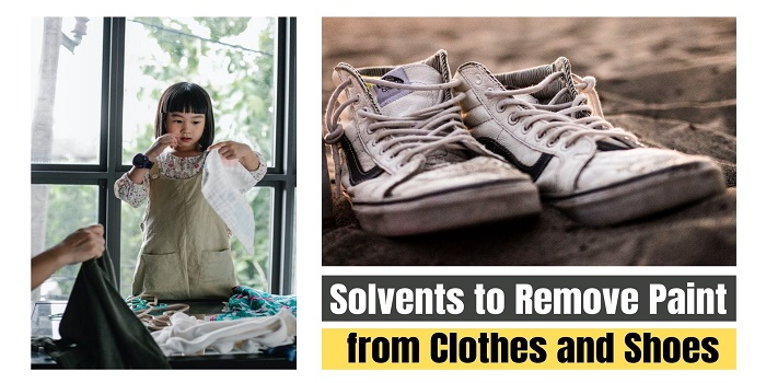Solvents to Remove Paint from Clothes and Shoes