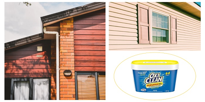 can you use oxiclean to clean siding
