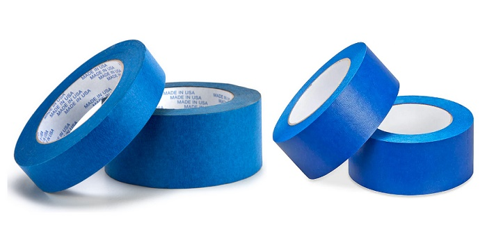 how to use blue painters tape