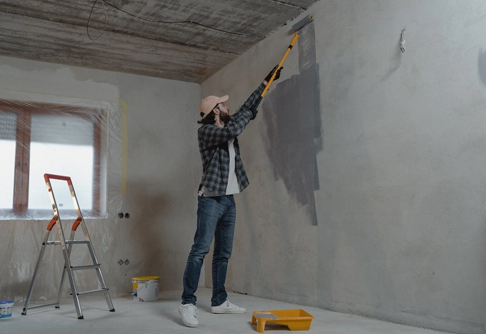 Paint Over Nicotine-Stained Walls