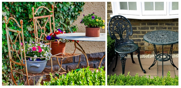 How to Paint Powder Coated Patio Furniture