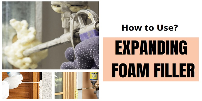 how to use expanding foam filler for wood