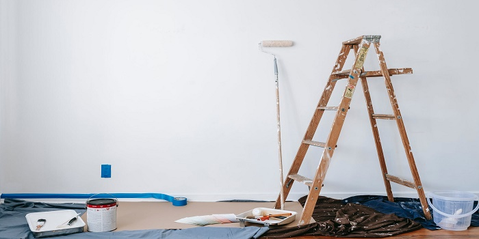 Ladder for Painting High Ceiling