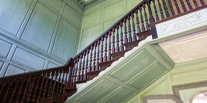 what color to stain the railings
