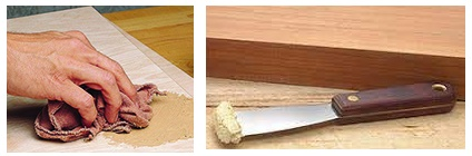 Difference between Wood Filler and Wood Putty